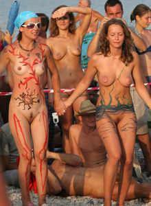 Neptun holliday nudists celebration